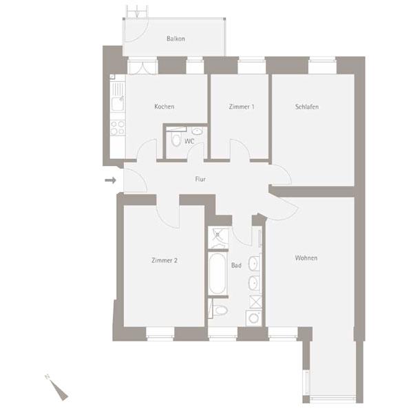 WE 5.01 - 4 Zimmer