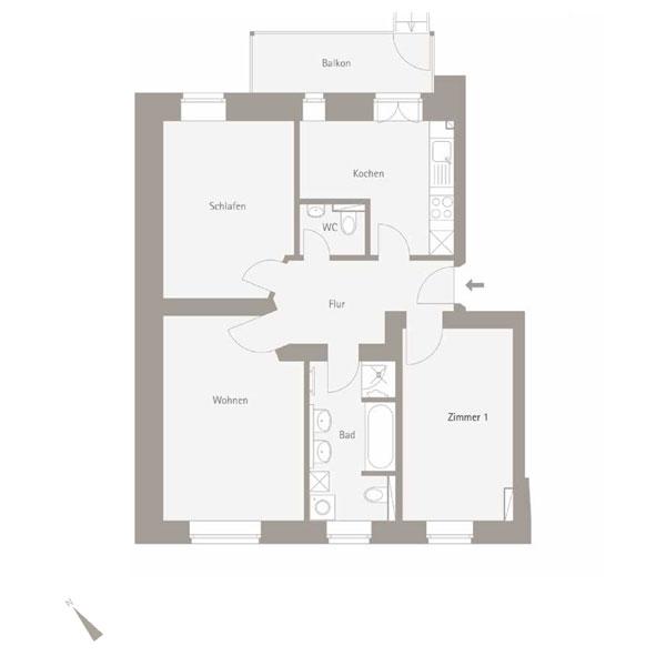 WE 5.02 - 3 Zimmer