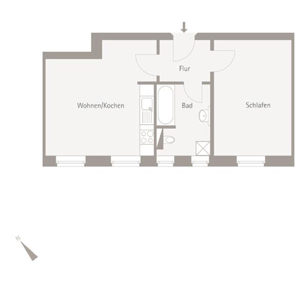 WE 5.04 - 2 Zimmer