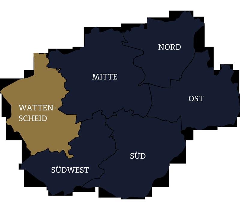 Wohnung kaufen in Bochum Karte